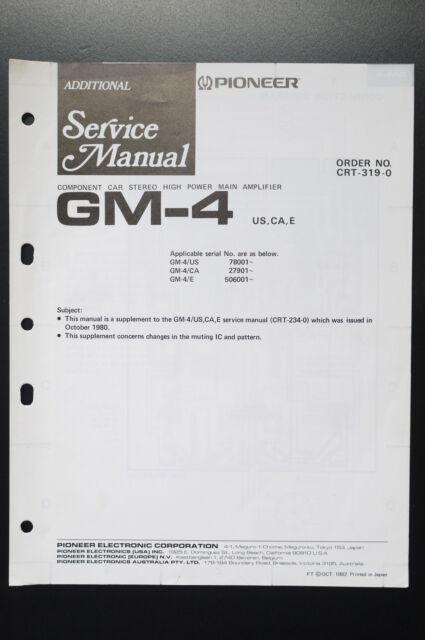 pioneer gm 4 manual rh pioneer gm 4 manual logoutev de