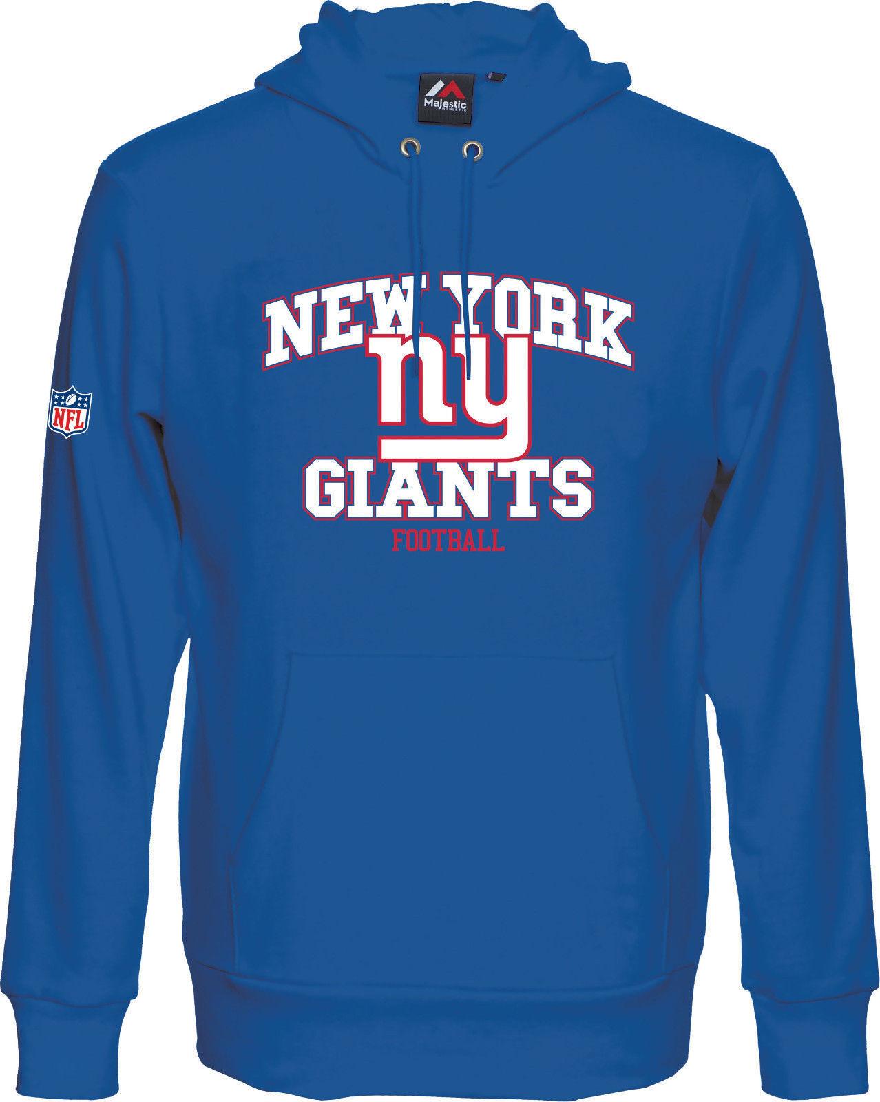 NFL FOOTBALL NEW YORK NY Giants Hoody kaputzenpullover Greatness Hooded Sweater