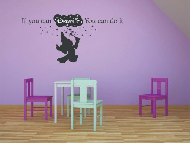 . Disney Disneyland Mickey Mouse Kids Decals Themed Wall Decal Stickers  Sticker