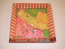 Vintage Barbie 1971 Skipper & Fluff outfit #3467 Teeter Timers - mint in box