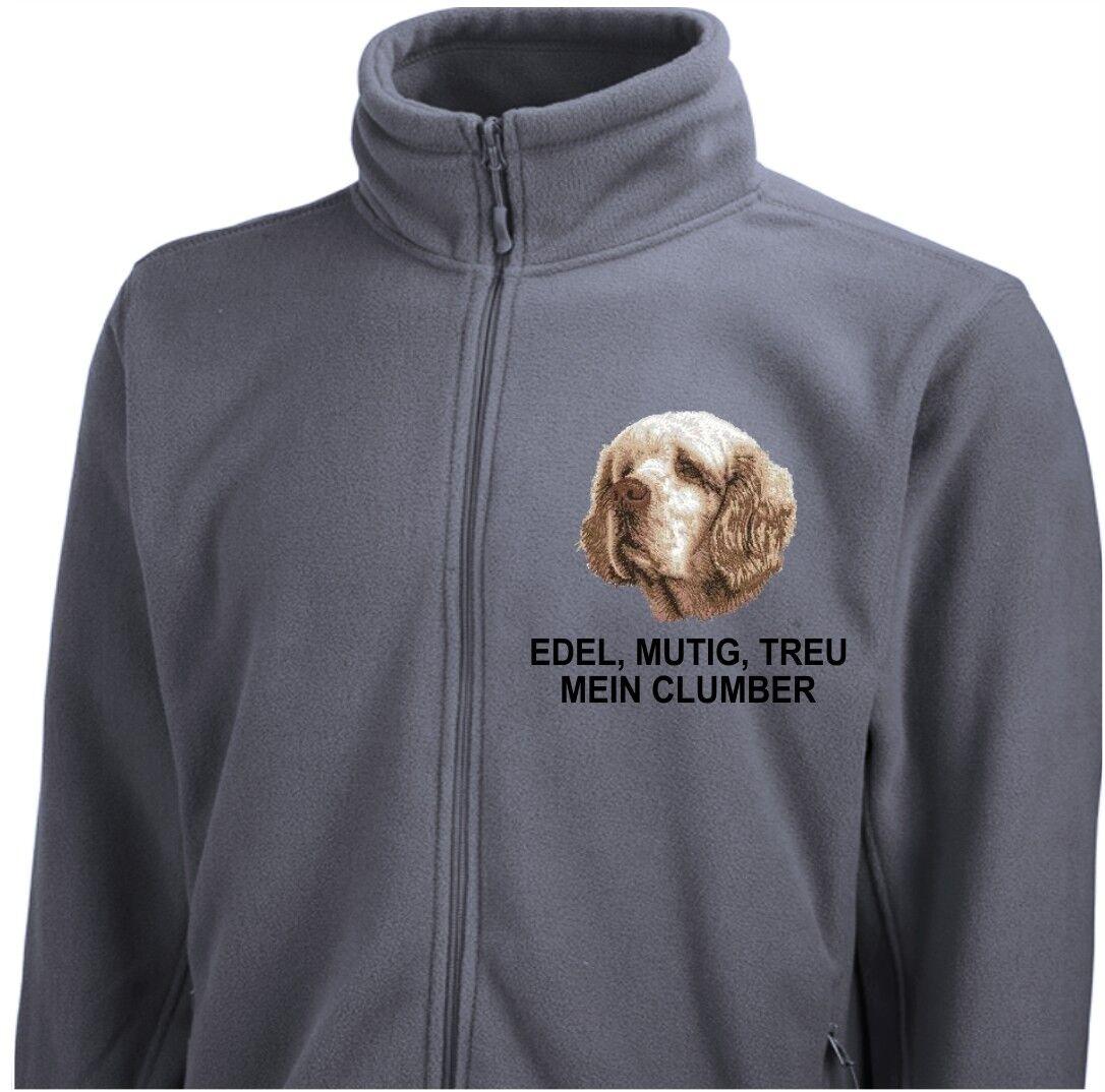 Pinewood Giacca Clumber Spaniel ricamo by siviwonder cane