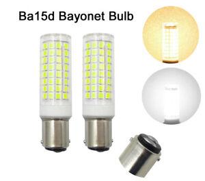5pcs Ba15d B15 Led Ligjht Bulb 64-2835 SMD 110V Warm White Fit Sewing Machine H
