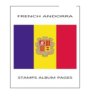 FRENCH-ANDORRA-STAMPS-ALBUM-PAGES-1931-2014-PDF-FILE-ILUSTRATED-COLOR