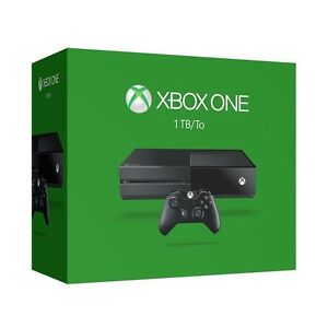 Xbox One Gaming Console Black 1TB Fulll HD 1080p Backwards Compability Wi-Fi