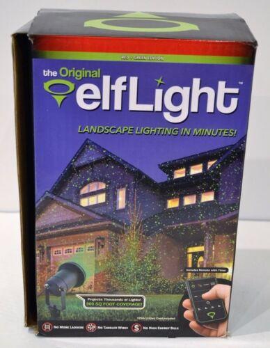 The Original elfLight Landscape Laser Projector Lighting 900 Sq Foot Coverage