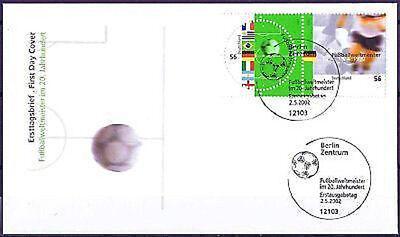 Brd 2002: Fußballweltmeister! Fdc Nr 2258+2259 Mit Berliner Sonderstempeln! 1906