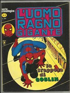 UOMO RAGNO GIGANTE n°9 - OTTIMO - Ed. Corno