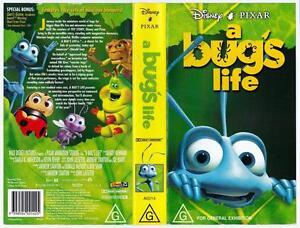 Disney A Bug S Life Rare Vhs Tape Ebay