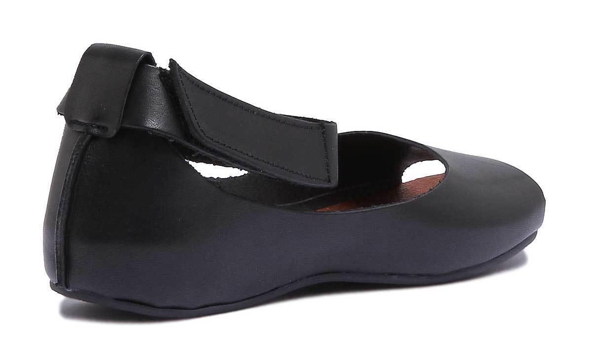 aa36c9ebf8b0f9 ... justin reece angleterre 7020 7020 7020 sandales de cuir noir la femme de  matt taille 3 ...