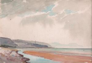 GEORGE-GRAINGER-SMITH-Watercolour-Painting-NEAR-GLENDALE-SKYE-SCOTLAND-c1930