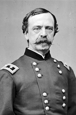 Union New 5x7 Civil War Photo Federal General Daniel Sickles /& Staff