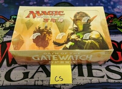 1x  Oath of the Gatewatch Chinese Simplified Booster Box New Sealed Product