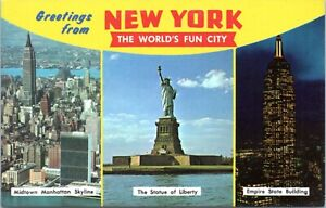 1960s-Greetings-from-New-York-Fun-City-Statue-of-Liberty-Empire-NYC-Postcard