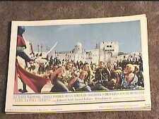 LONG SHIPS 1964 LOBBY CARD #2 VIKINGS