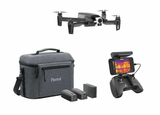 Parrot Anafi Pf728120aa Thermal Drone With Two Cameras And Skycontroller For Sale Online Ebay