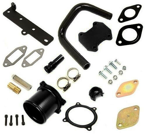 EGR Cooler /& Throttle Valve Delete Kit For 2013-18 Dodge Ram 6.7L Cummins Diesel