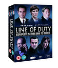 Line of Duty Series 1 to 3 and DVD Set 6 Discs Adrian Dunbar
