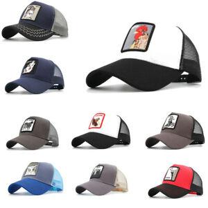 Fashion Men Animals Women Mesh Hat Baseball Caps Lovely Snapback Cap Dad