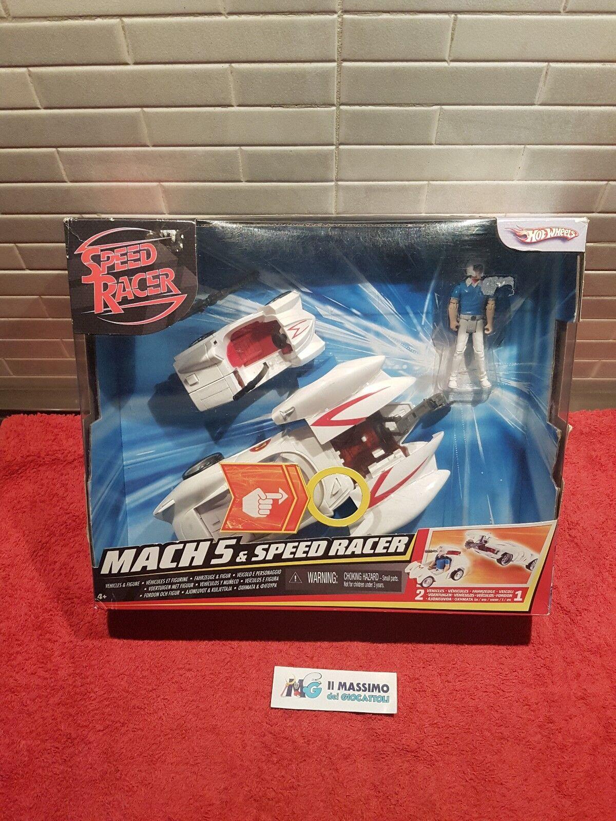 Speed Racer Mach 5 Hotwheels 2007