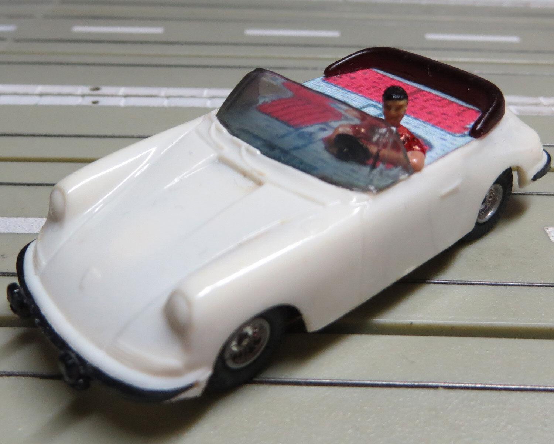 FALLER AMS PORSCHE 911 COMO Cabrio CON MOTOR DE ARMADURA PLANA  8
