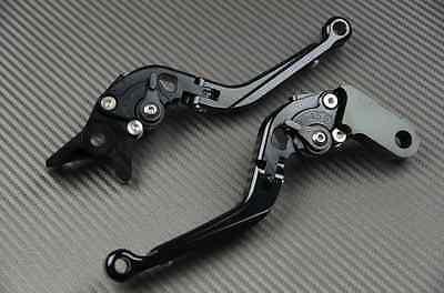 Levier levers flip-up foldable repliable noir black Ducati MULTISTRADA 1200 ET S