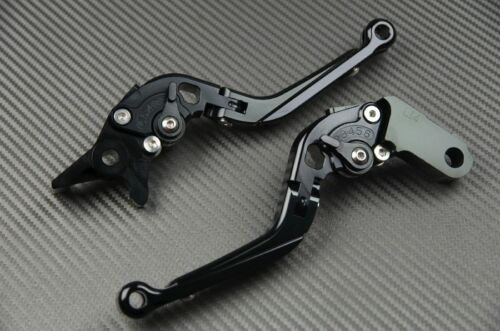 Levier levers flip-up foldable Yamaha FULL black FZX 750 1986-1998