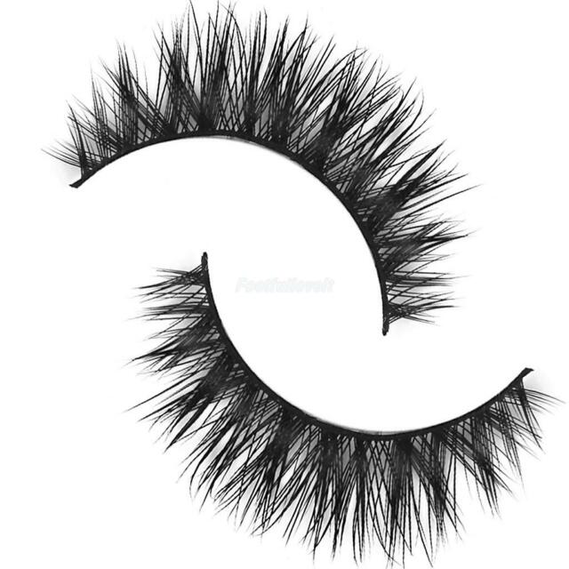 Mink Hair Long Natural Eye Lashes False Eyelashes Extensions Party Makeup