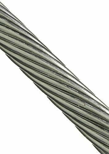 """250FT T316 Stainless Steel 3//16/"""" 1x19 Cable Wire Rope"""
