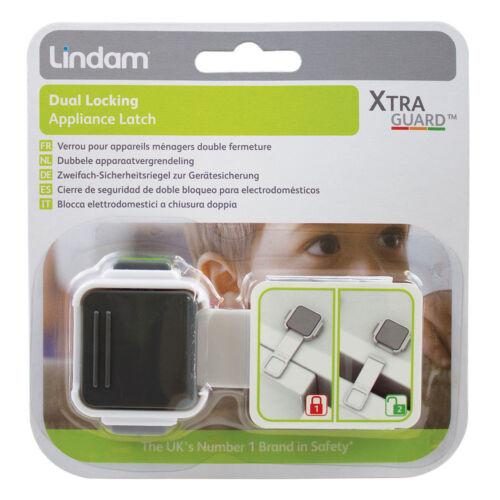Lindam Xtra Guard doble bloqueo pestillo de dispositivo de bloqueo de doble bebé seguridad pestillo