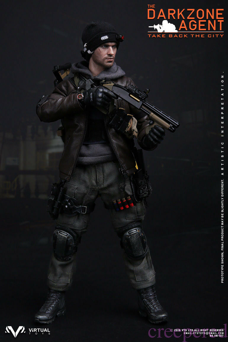 VTS Toys 1 6 (VM-017) THE DARKZONE AGENT Tom Clancy's The Division Figure