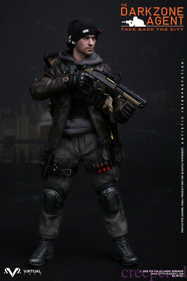 VTS darkzone DG mitraillette 1//6 Toys Virtual Dragon barrage GI JOE soldat