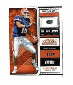 Details About 2018 Contenders Draft Picks Tim Tebow Base Card