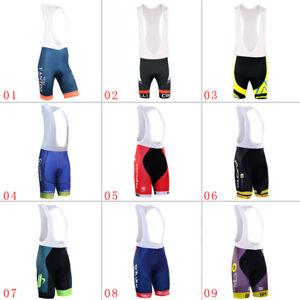 Men-039-s-Cycling-Bib-Shorts-3D-Pad-Man-Riding-Bicycle-Team-Tights-Man-Short-Pants