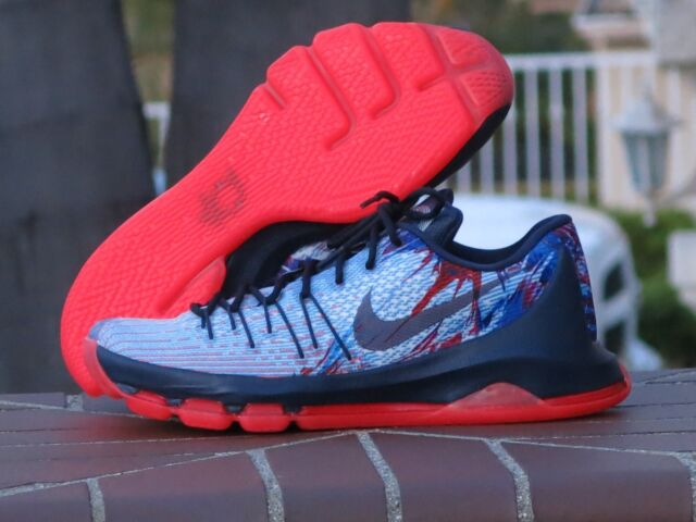 69313127998 Nike KD 8 Kevin Durant Independence Day 4th of July Mens SNEAKERS ...
