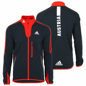 wholesale how to buy various design adidas Herren Fleece Jacke Team Austria Olympia Fleecejacke ...