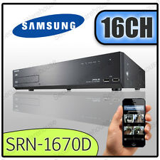 16CH Samsung SRN-1670D 16 Canales NVR CCTV Digital Video Recorder DVR de red