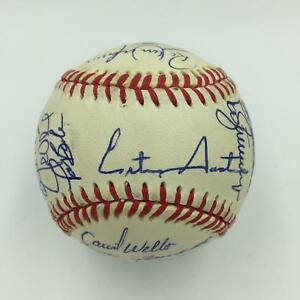 1992 Toronto Blue Jays World Series Champs Team Signed Baseball With JSA COA