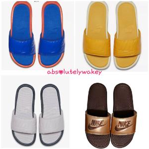 Nike-Benassi-JDI-Ultra-SE-Women-039-s-Slide-Bathing-Sandal-Beach-Casual-Slides