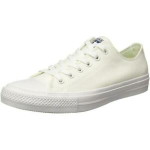 9cd530e43c07c1 Converse Chuck Taylor All Star II Ox White Textile Adult Trainers
