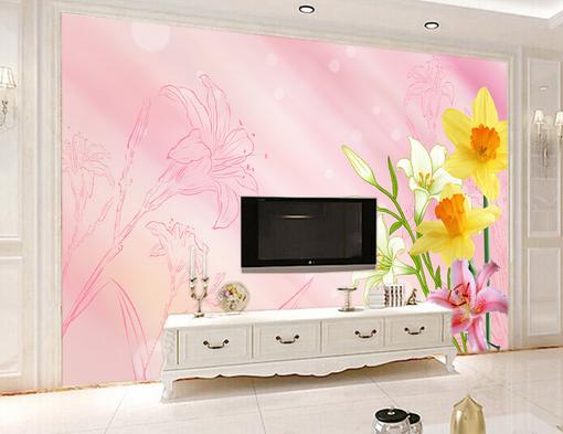 3D Blossom 4367 WandPapier Murals Wand Drucken WandPapier Mural AJ Wand UK Kyra