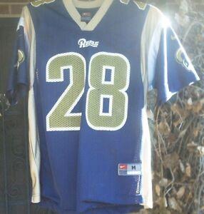quality design 63eb2 bd755 Details about Vintage Marshall Faulk Rams Jersey - Child Size Medium - Nike  Team