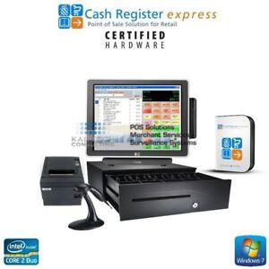 Pc america cash register express pos software   posguys. Com.