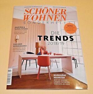 Schoner Wohnen Sonderheft Die Trends 2018 19 Extra Heftchen Ungelesen Ebay
