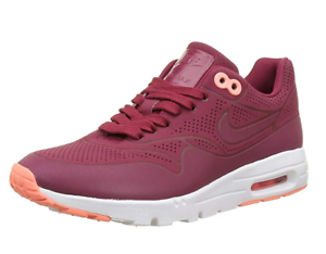 Details about NIKE AIR MAX 1 ULTRA MOIRE WOMEN'S RUNNING WALKING SHOES NOBLRE RED 704995 602