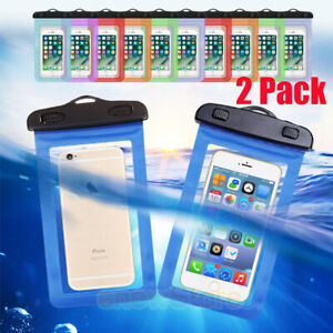 2-Pack-Swimming-Waterproof-Underwater-Pouch-Bag-Pack-Dry-Case-for-smart-Phone