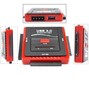 USB3-0-to-SATA-IDE-2-5-034-3-5-034-External-HDD-Drive-Converter-Adapter-Power-Supply
