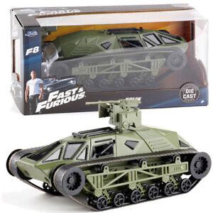 Jada-1-24-Rapido-y-Furioso-8-Calza-Tank-Green-DIECAST-coleccion-de-juguetes-del-vehiculo
