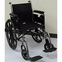 Invacare Heavy Duty Lightweight Folding Wheelchair