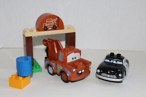 Lego Duplo Disney Pixar Cars Mater S Yard Set 5814 Tow Mater Sheriff Ebay