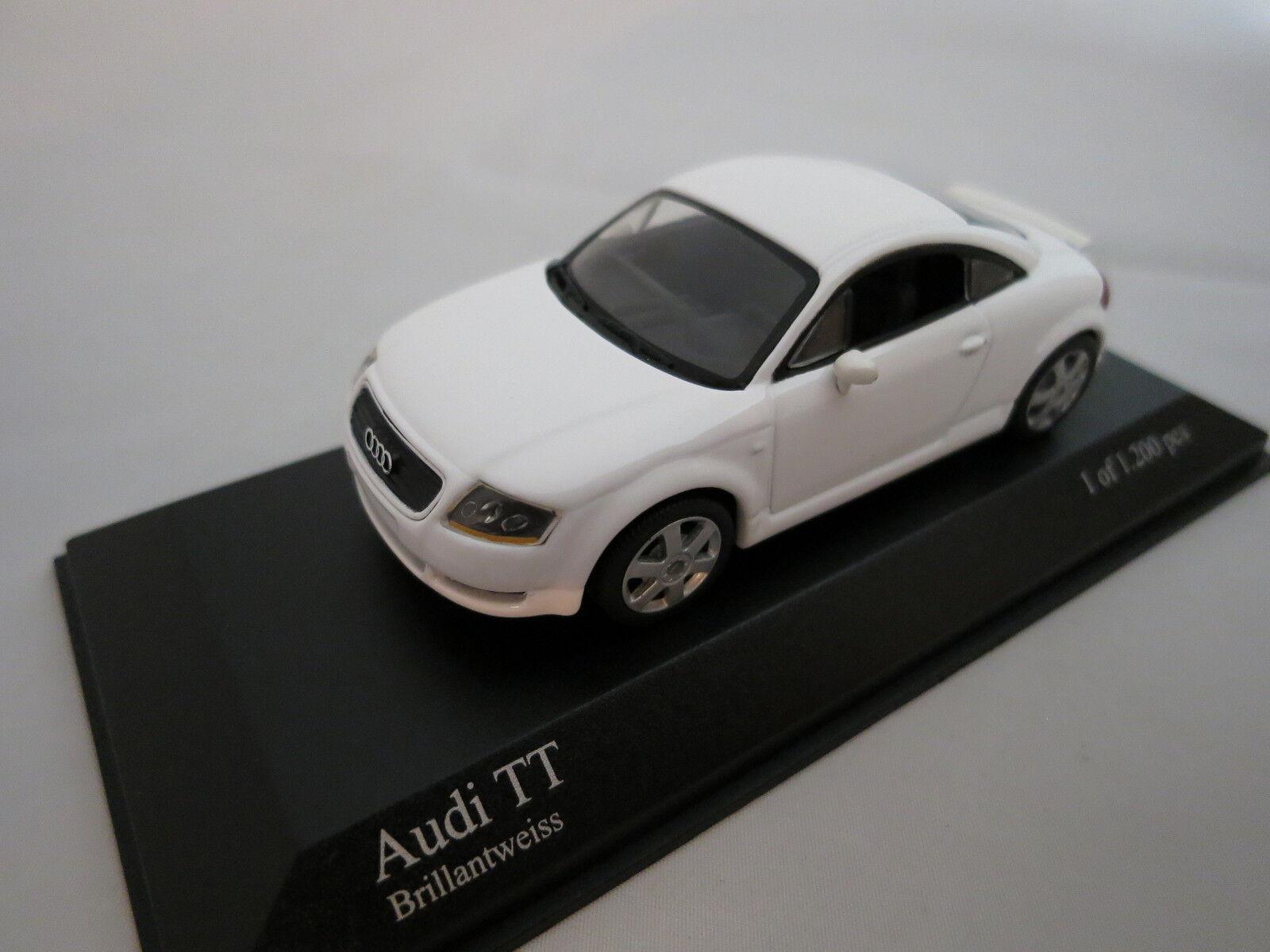 Minichamps Audi TT Coupè  (Brillantweiss) 1 43 TOP & OVP  | Fein Verarbeitet